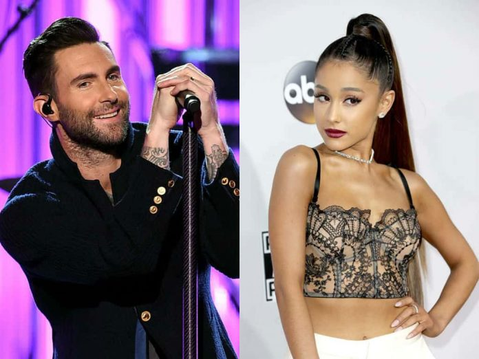 Adam Levine und Ariana Grande